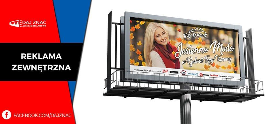 Kampanie billboardowe Nowy Sącz
