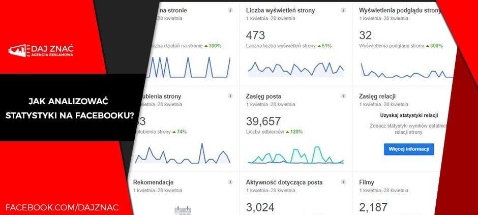 Jak sprawdzać statystyki na facebooku